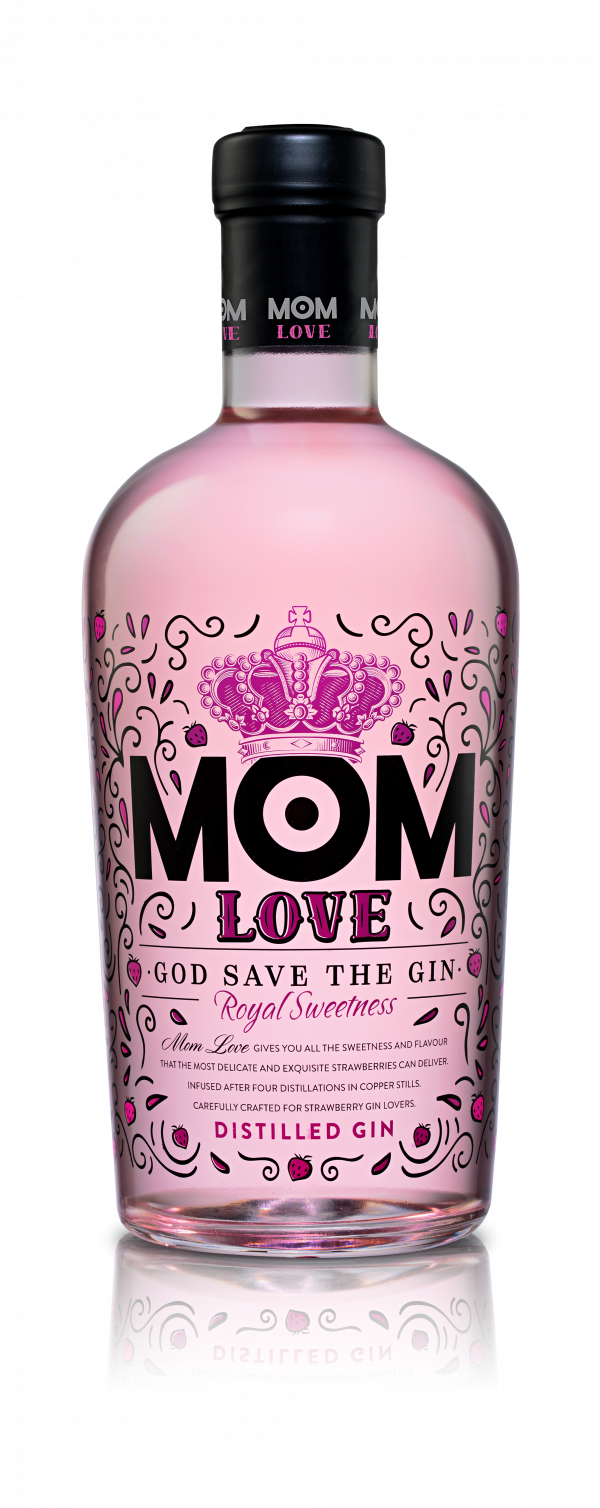 MOM Gin LOVE 37,5% 0,7 l 1