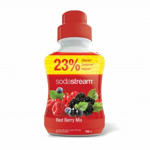 SodaStream Sirup Red Berry 750 ml 7