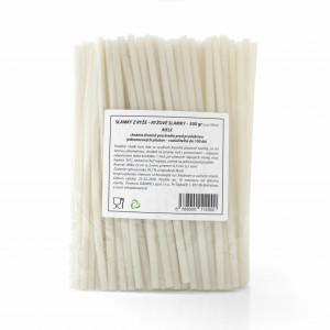 Slamky z ryže 500g cca 100 ks biele 3