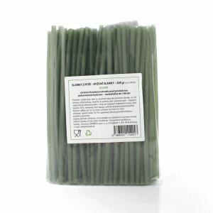 Slamky z ryže 500g cca 100 ks zelené (špenát) 5