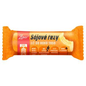 Sójové rezy Zora tyčinka s 13 % proteínu 50g 22
