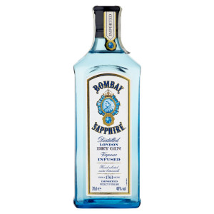 Bombay Sapphire Gin 40% 0,7 l 6