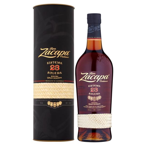 Zacapa Centenario Solera 23yo Rum 40% 0,7 l tuba 1