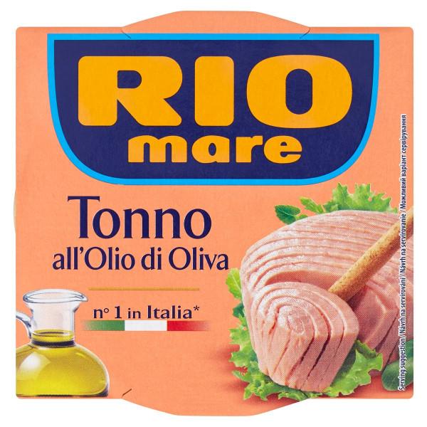 Rio Mare Tuniak v olivovom oleji 160 g 1