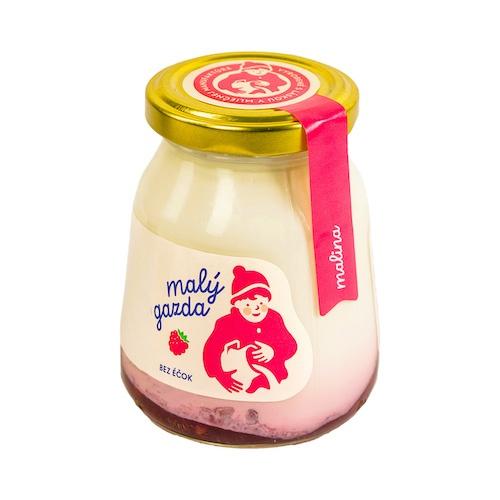 Jogurt malinový bez Éčiek MG 200g VÝPREDAJ 1