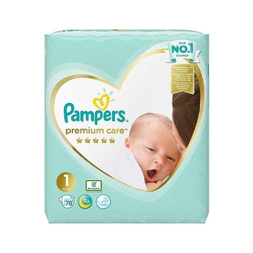 Pampers Premium Care 1 Newborn plienky 78ks 1