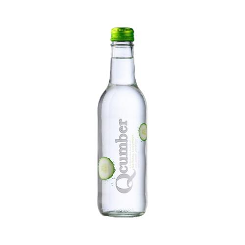 QCUMBER uhorková limonáda 330ml 1