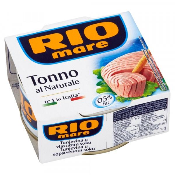 Rio Mare Tuniak vo vlastnej šťave 160 g 1