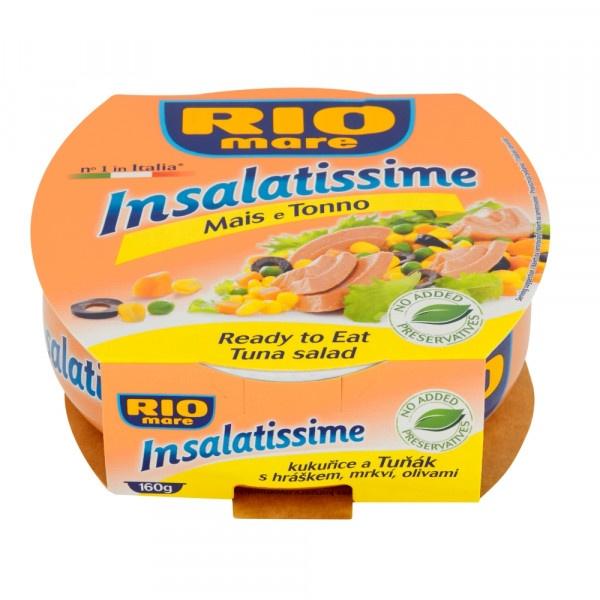 Rio Mare Insalatissime Tuniak. šalát kukurica 160g 1