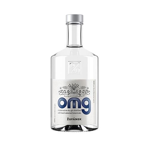 ŽUFÁNEK Gin OMG (OH MY GIN) 45% 0,5l 1