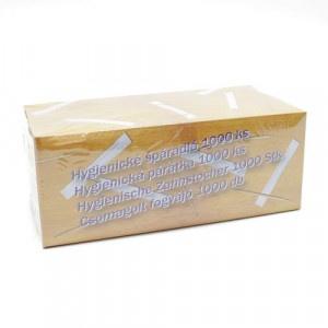 Špáradlá hygienicky balené 1000 ks (v papieri) 7
