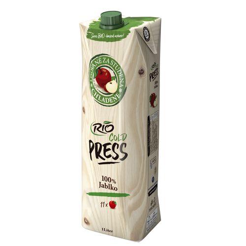 Džús jablkový 100% Rio Cold Press 1l VÝPREDAJ 1