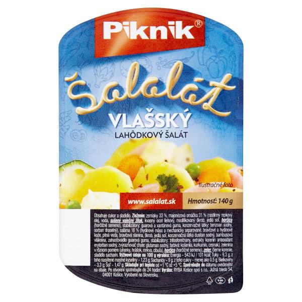 Šalát vlašský lahôdkový Piknik 140g 1