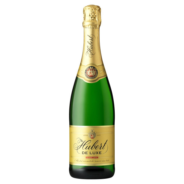 Víno šumivé b. sladké HUBERT DE LUXE 0,75l 1