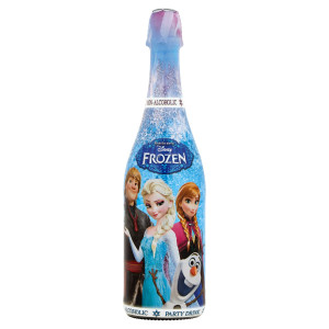 Detské šampanské Frozen biele hrozno 750 ml 19