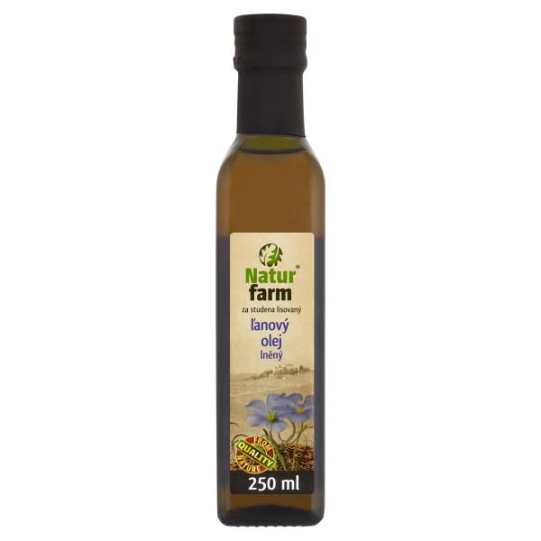 Olej Ľanový Natur Farm 0,25 l 1