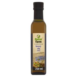 Olej Ľanový Natur Farm 0,25 l 15