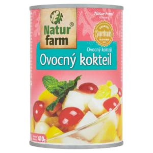 Ovocný koktejl kompót Natur Farm 420 g 23