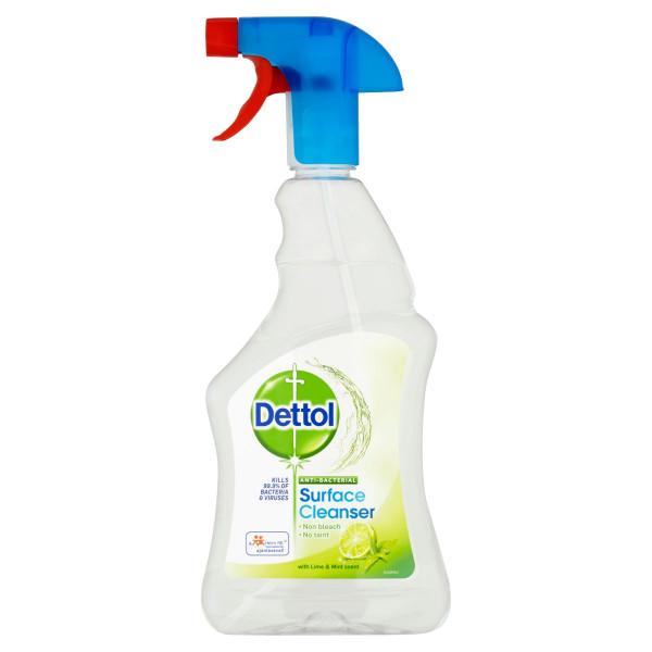 Dettol antibakteriálny sprej limetka&mäta 500 ml 1