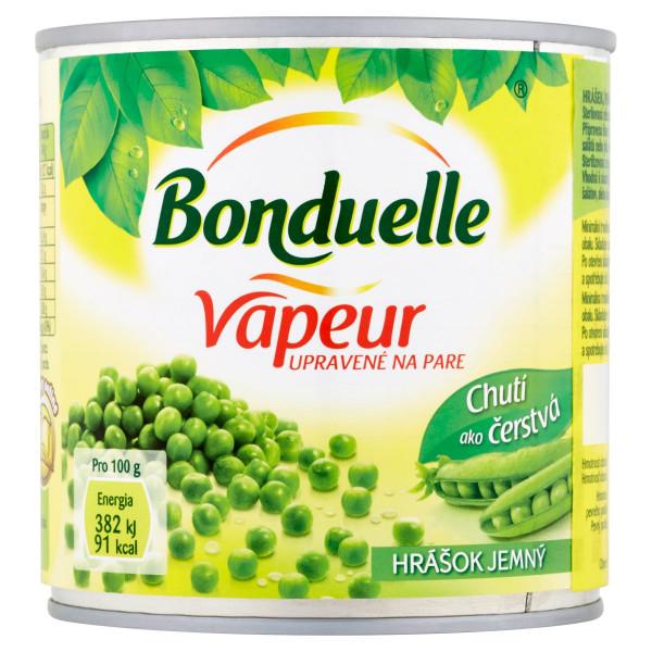 Bonduelle Vapeur Hrášok extra jemný 320g 1