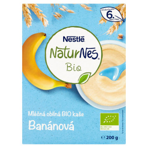 Nestlé NaturNes BIO Ml. obilná kaša Banán 200 g 7