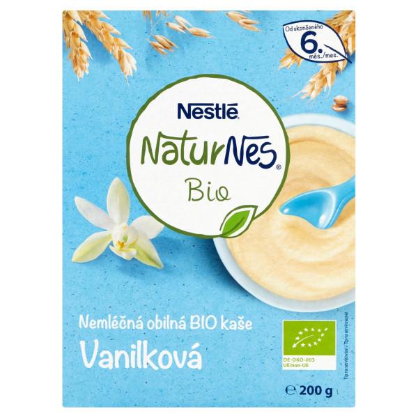 Nestlé NaturNes BIO Neml.obilná kaša Vanilka 200 g 1