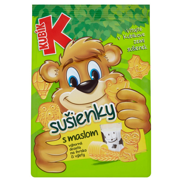 Kubík Sušienky s maslom 100 g 1