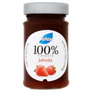 Relax Jahoda ovocná nátierka 220 g 10