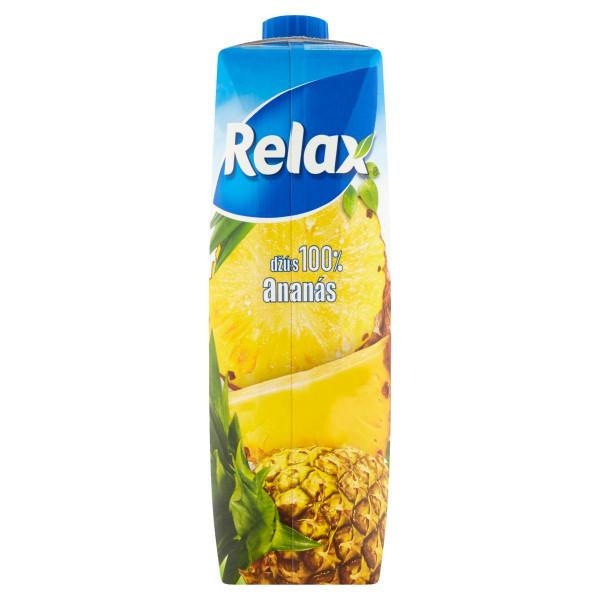 Relax Džús 100% ananás 1 l 1
