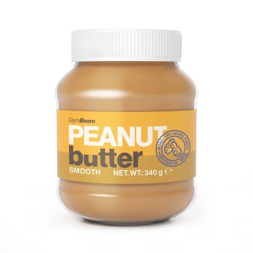 Arašidové maslo 100% jemné 340 g GymBeam 1