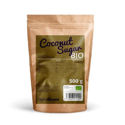 Bio Kokosový cukor 500g GymBeam 1