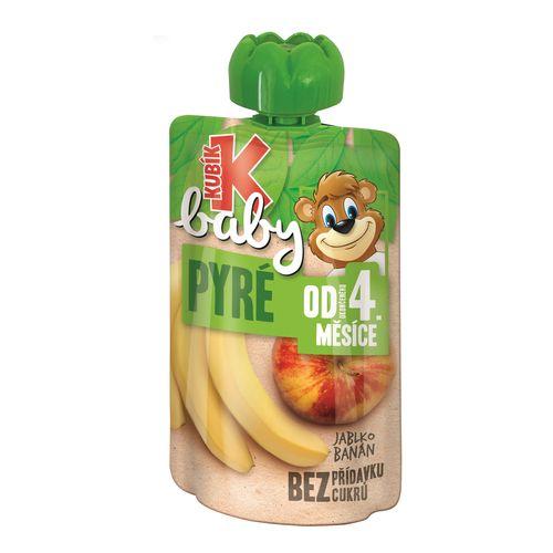 Kubík Baby ovocná kapsička jablko ,banán 100g 1
