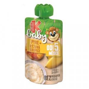 Kubík Baby ovocná kapsička jablko ,mrkva 100g 4