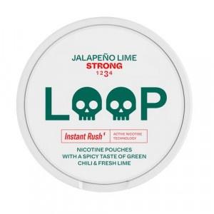 Loop Jalapeno Lime Strong nikotínové vrecká 15 g 2