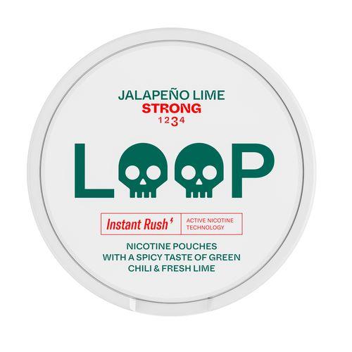 Loop Jalapeno Lime Strong nikotínové vrecká 15 g 1