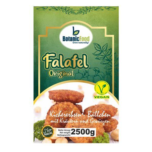 Mrazené Vegánske fašírky Falafel BotanicFood 2,5kg 1
