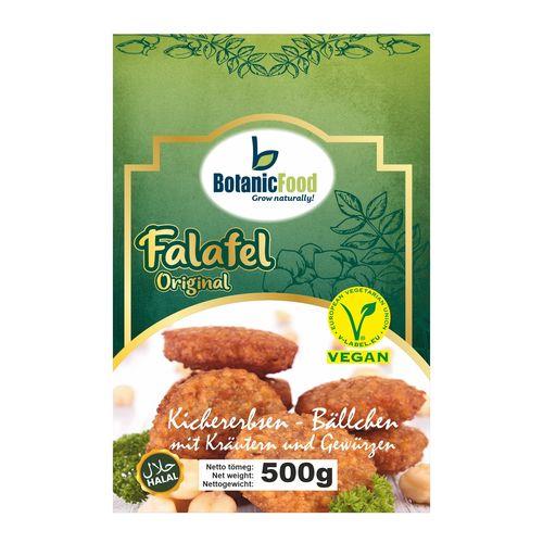 Mrazené Vegánske fašírky Falafel BotanicFood 500g 1