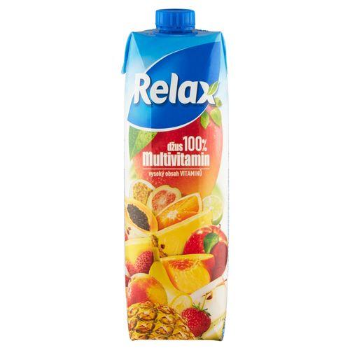 Relax Džús 100% multivitamín 1 l 1