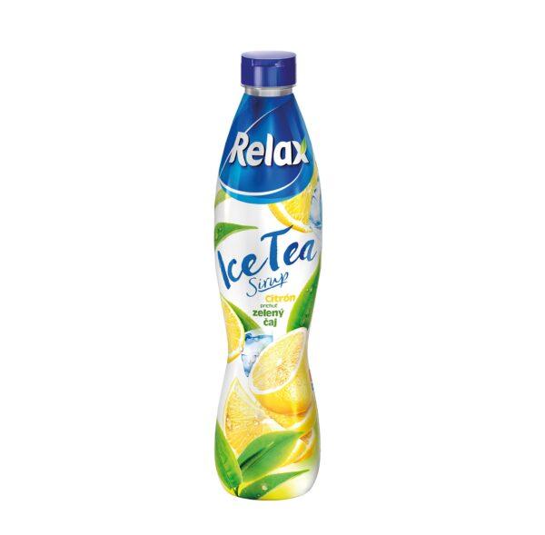 Relax Sirup Ice Tea Zelený čaj a citrón 700 ml 1