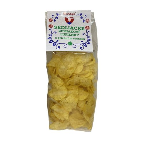 Sedliacke zemiakové lupienky cesnakové 100 g 1