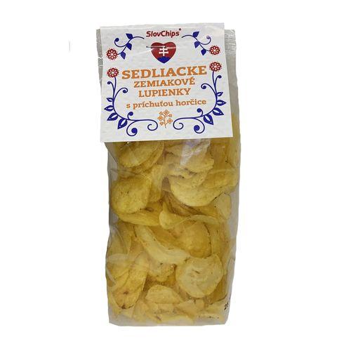 Sedliacke zemiakové lupienky horčicové 100 g 1