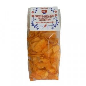 Sedliacke zemiakové lupienky paprikové 100 g 3
