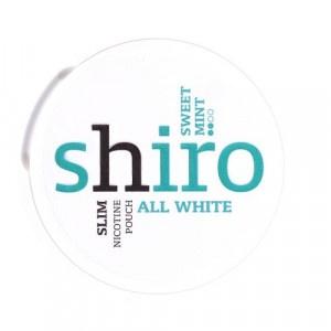 Shiro Sweet Mint nikotínové vrecká 12 g 3