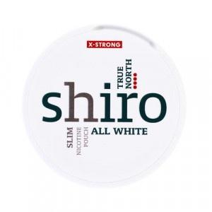 Shiro True North X Slim nikotínové vrecká 12 g 6