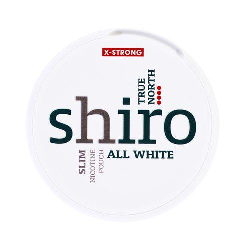 Shiro True North X Slim nikotínové vrecká 12 g 1