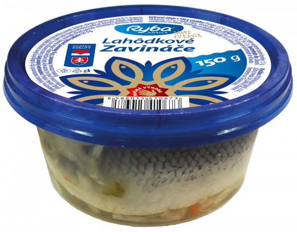 Zavináče lahôdkové Ryba More Zdravia 150g 1