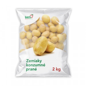Zemiaky konz.nesk.žlté 2,0kg Lunys kal.45+,I.Tr 9