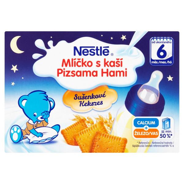 Nestlé Mliečko s kašou sušienkové 2 x 200 ml 1