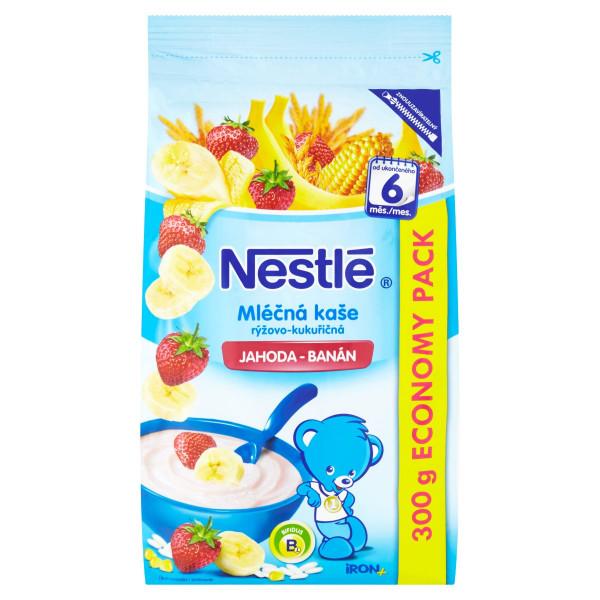 Nestlé mliečna kaša jahoda, banán 300 g 1