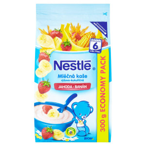 Nestlé mliečna kaša jahoda, banán 300 g 18